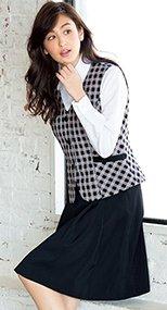 ソフトプリーツスカート(バックアップカイロポケ付き) ストレッチ 91-FS45791