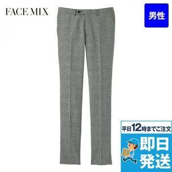 FP6020M FACEMIX/GRAND(グラン) グレンチェック ノータックパンツ(男性用)