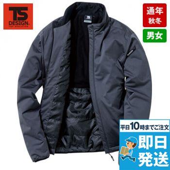 6626 TS DESIGN 防風ストレッチ ライトウォームジャケット(男女兼用)
