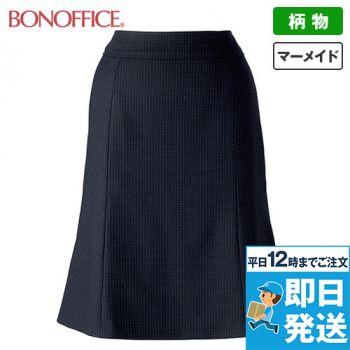 BONMAX LS2188 [通年]リブラ マーメイドスカート ドット柄 36-LS2188