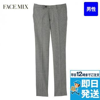 FP6021M FACEMIX/GRAND(グラン) 千鳥格子 ノータックパンツ(男性用)