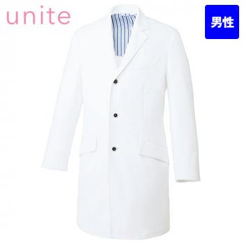 UN-0085 UNITE(ユナイト) 長袖ドクターコート(男性用)