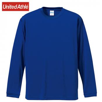 ドライシルキータッチロングスリーブTシャツ(4.7オンス)(男女兼用)