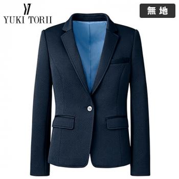 [在庫限り/返品交換不可]YT4912 ユキトリイ [秋冬用]ニットジャケット 無地 40-YT4912
