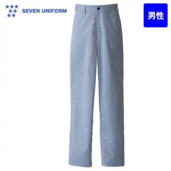DL2982 セブンユニフォーム 先染めストライプパンツ(男性用)