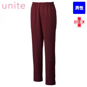 UN-0077 UNITE(ユナイト) ブロックニット スクラブパンツ(男性用)