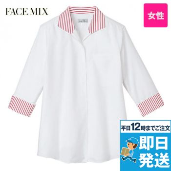 FB4034L FACEMIX 七分袖イ