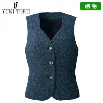 YT2914 ユキトリイ ベスト ツイード