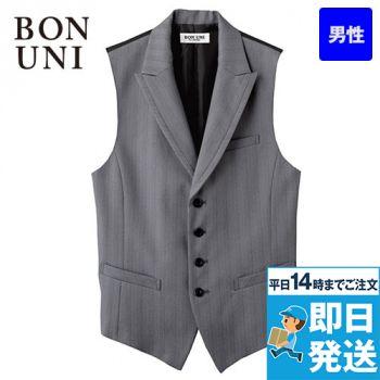 15115 BONUNI(ボストン商会) ベスト(男性用) グレースヘリンボーン