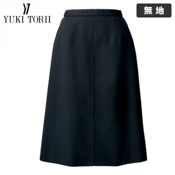 YT3920 ユキトリイ Aラインスカート 無地(ストレッチ)