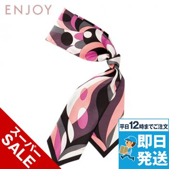 EAZ445 enjoy イメージを一気に格上げする華やかなスカーフ 98-EAZ445