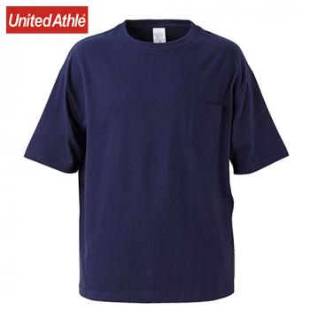 ビッグシルエットTシャツ(ポケ付)(5.6オンス)(男女兼用)