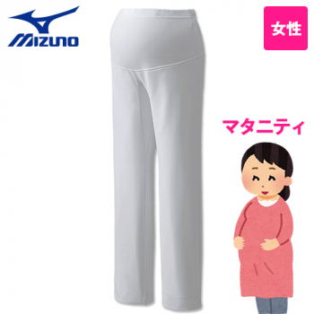 MZ-0126 ミズノ(mizuno) マタニティーパンツ 股下マチ