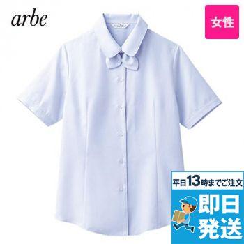 BL-6815 チトセ(アルベ) ブラウス/半袖 リボンタイ付き(女性用)