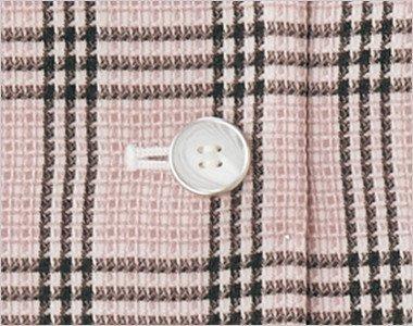 白ベースでマーブルな柄のボタン