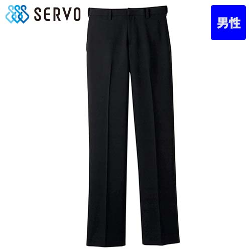 FP-5431 SUNPEX(サンペックス) ストレッチ黒パンツ(男性用)/股下フリー