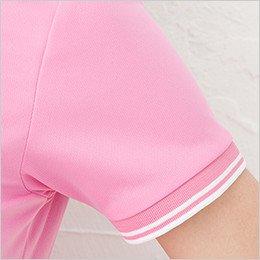 袖口 2本のラインデザインのリブ仕様