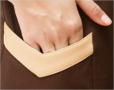 両脇に便利なサイドポケット