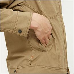 両脇 逆玉サイドポケット