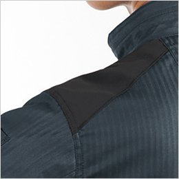 肩コーデュラ補強布使用