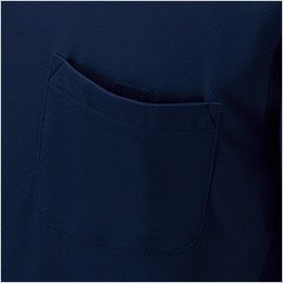 左胸 ポケット(マジックテープ付)
