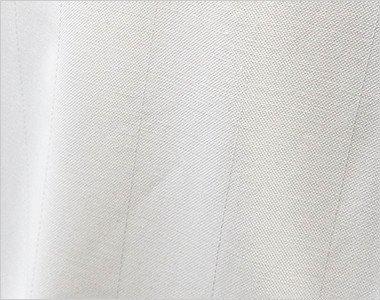 制電糸を使用した生地で、静電気の発生防ぎます。