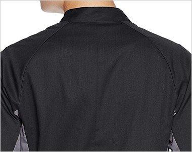 肩が動かしやすい立体裁断仕様