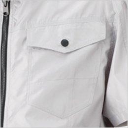 左胸 ポケット付き