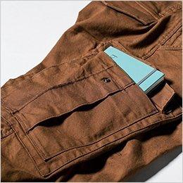 左右の大きめカーゴポケット