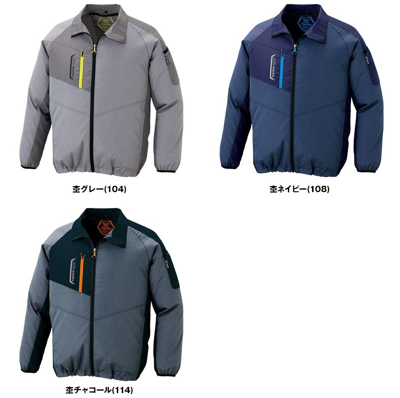 AZ50199 アイトス タルテックス [春夏用]空調服 長袖ジャケット(男女兼用) ポリ100% 色展開