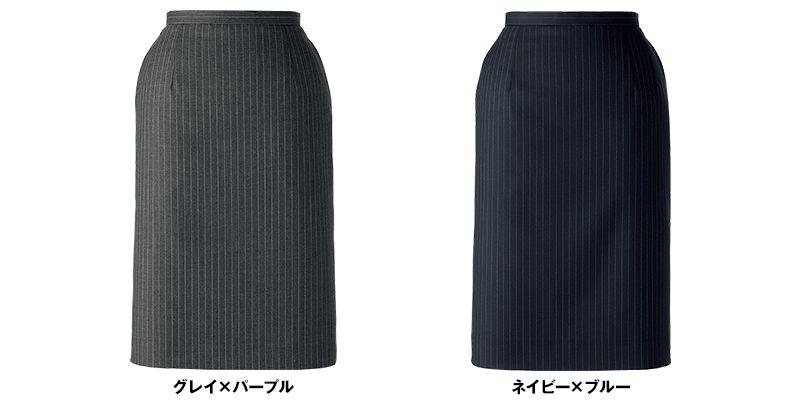 BONMAX AS2271 [通年]ベガ タイトスカート ストライプ 色展開
