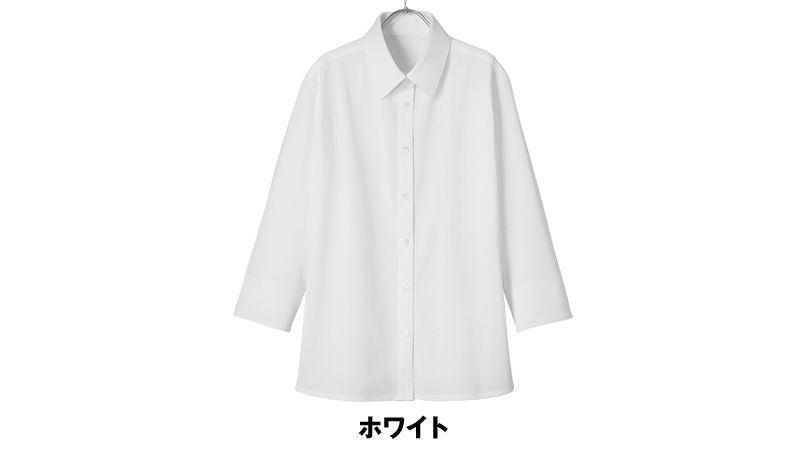 AR1566 アルファピア 七分袖ニットシャツ 色展開