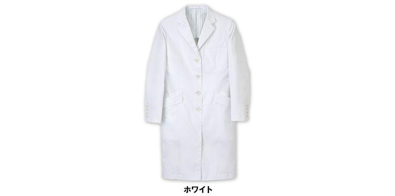 [送料無料]FD4040 ナガイレーベン(nagaileben) シングル診察衣長袖(Y体・細身)(女性用) 色展開