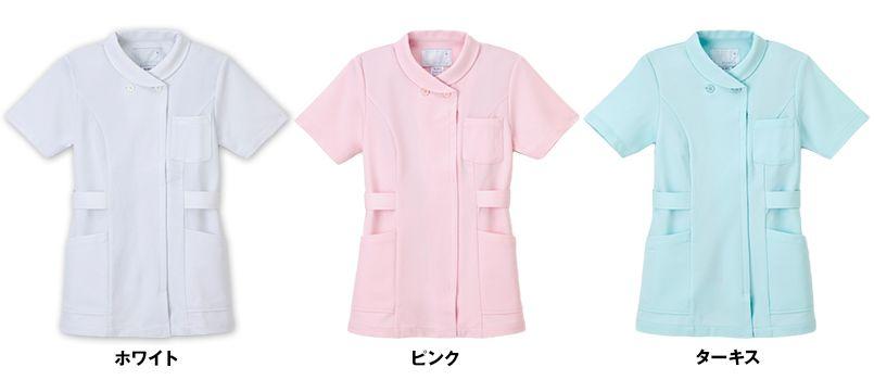 TS2077 ナガイレーベン(nagaileben) タピスタット チュニック/半袖(女性用) 色展開