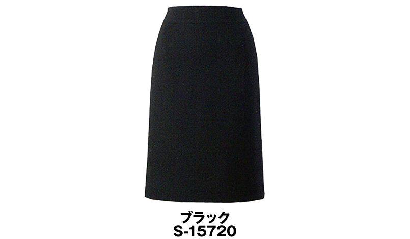 S-15720 SELERY(セロリー) [春夏用]脚長効果が抜群!Aラインの魅せスカート 無地 色展開