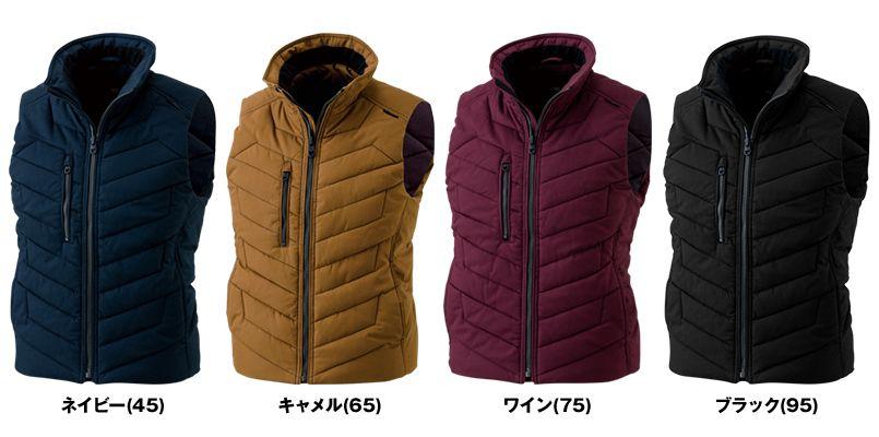 3528 TS DESIGN [秋冬用]ライトウォームベスト(男女兼用) 色展開