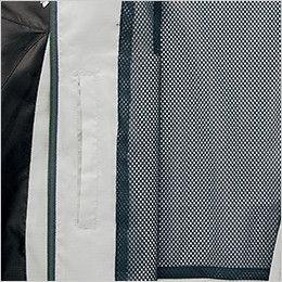 AZ10301 アイトス タルテックス フードインジャケット(薄地素材)(男女兼用) ポケット