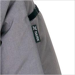 AZ50199 アイトス タルテックス [春夏用]空調服 長袖ジャケット(男女兼用) ポリ100% 袖の取り出しやすい位置に施したペン差し付き
