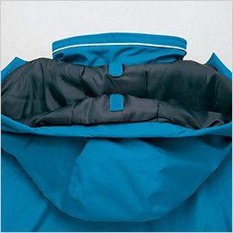 AZ8476 アイトス 防風 業務用防寒ブルゾン[フード付き・取り外し可能] インフード・マジックテープ