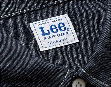 LWS43001 Lee ワーク長袖シャツ(女性用) Leeワークウェアオリジナルブランドネームタグ