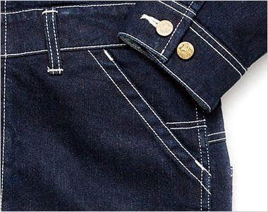 LWU39001 Lee ユニオンオール(長袖ツナギ)(男女兼用) ポケット付