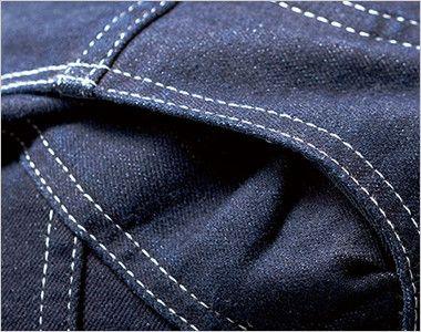 LWU39001 Lee ユニオンオール(長袖ツナギ)(男女兼用) 内側がメッシュになったアクションプリーツ