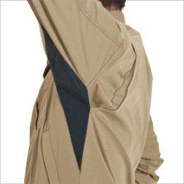 バートル 6091 [秋冬用]ソフトツイルジャケット(男女兼用) アームノーフォーク