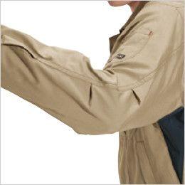 バートル 6091 [秋冬用]ソフトツイルジャケット(男女兼用)  アームタック