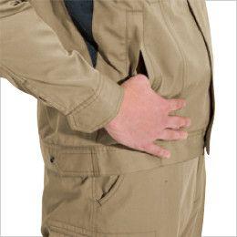 バートル 6091 [秋冬用]ソフトツイルジャケット(男女兼用)  逆玉ポケット