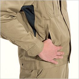 バートル 6101 [春夏用]T/Cライトチノジャケット(男女兼用)  逆玉ポケット
