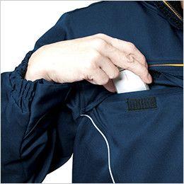 バートル 7110 パイピング防寒ブルゾン(男女兼用) Phone収納ポケット