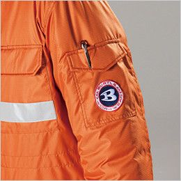 バートル 7211 [秋冬用]サーモトロン防寒コート(大型フード付)(男女兼用) ポケットペンさし
