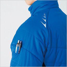 バートル 7310 [秋冬用]背面マイクロフリース防寒ジャケット(男女兼用) ペンポケット