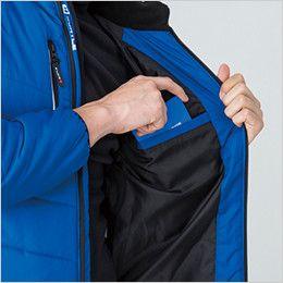 バートル 7310 [秋冬用]背面マイクロフリース防寒ジャケット(男女兼用) 内ポケット